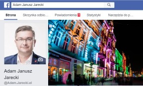 Adam Jarecki: Facebook